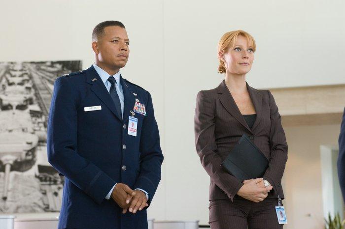 Lt. Colonel James Rhodes (Terrence Howard) mit Pepper