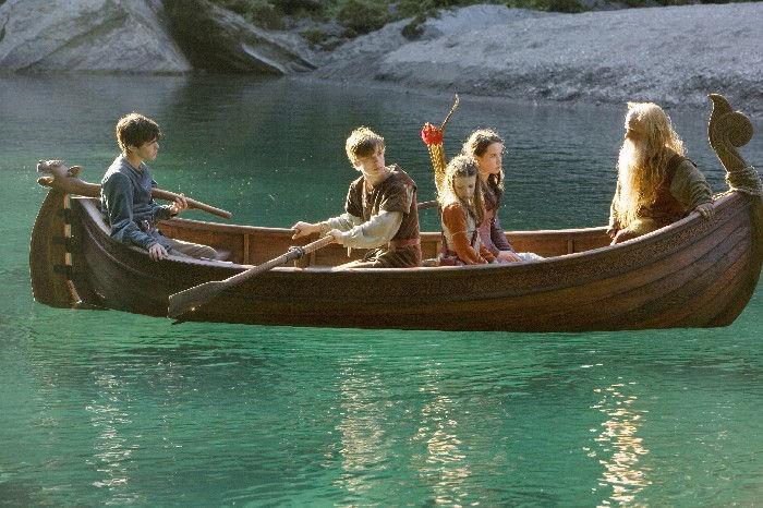 Flussfahrt in Narnia