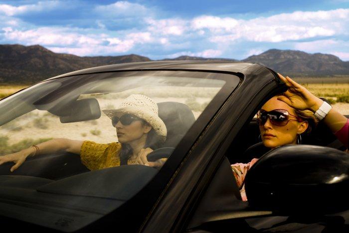 On the Road again: Elisabeth und Leslie