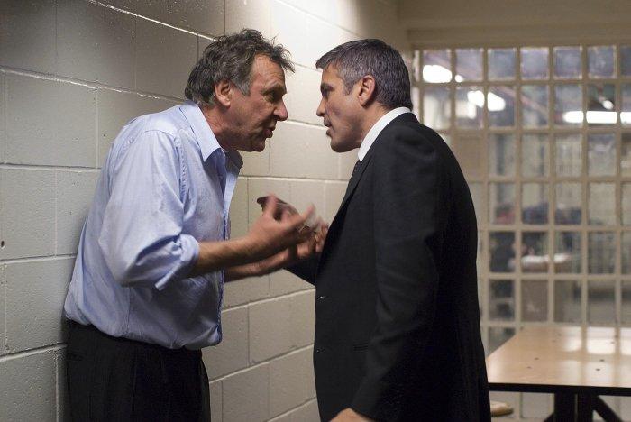 Heftiger Disput: Arthur Edens (Tom Wilkinson) und Michael Clayton