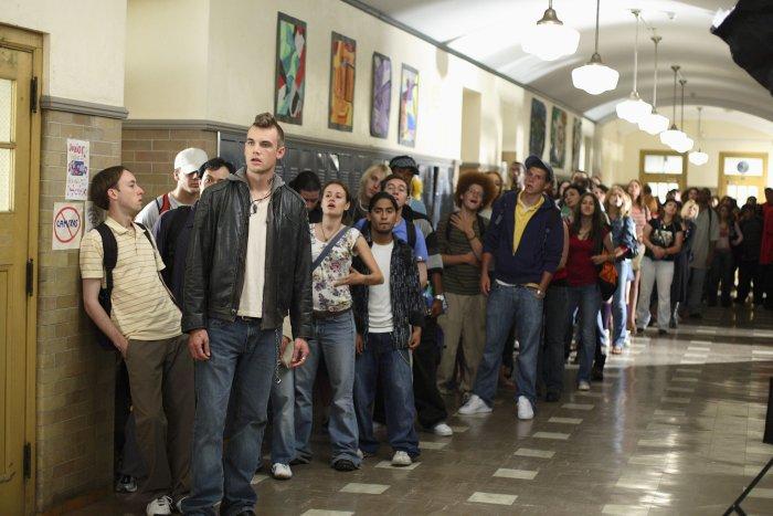 Der Schulflur wird zum Wartezimmer