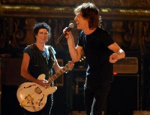 Keith Richards und Mick Jagger