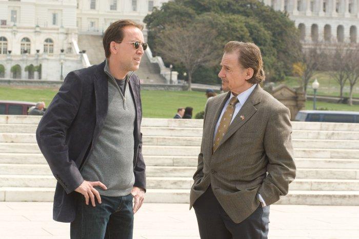 Ben Gates (Nicolas Cage) und FBI-Agent Sadusky (Harvey Keitel)