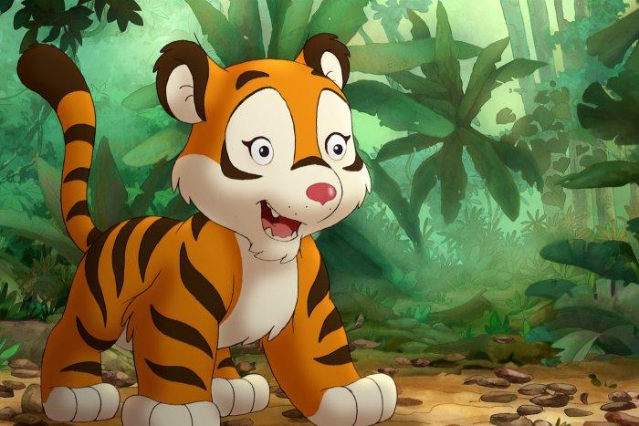 Kleine Tiger sind eigentlich nicht des Affen Freund