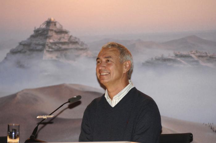 Regisseur, Drehbuchautor und Produzent Roland Emmerich