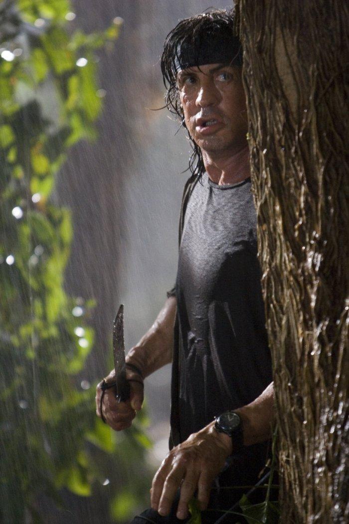 Will bestimmt kein Herz in die Baumrinde ritzen: Rambo