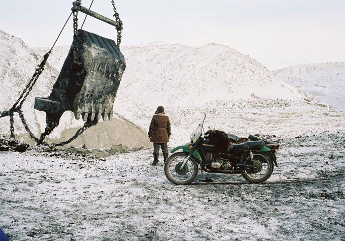 Bagi vor dem Tagebau