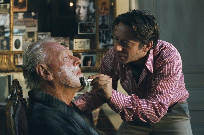 Baubys Vater (Max von Sydow) braucht die Hilfe seines Sohnes