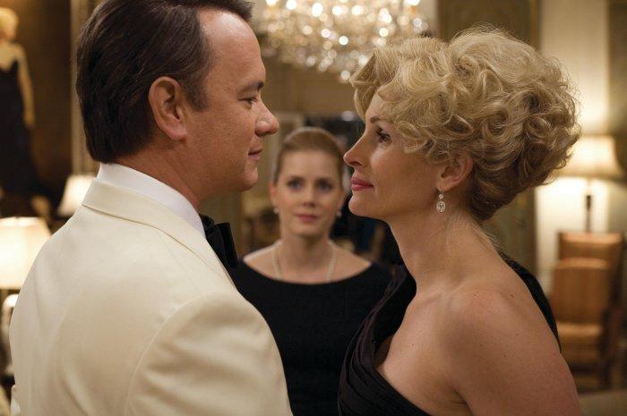 Wilson (Tom Hanks) knüpft Kontakte