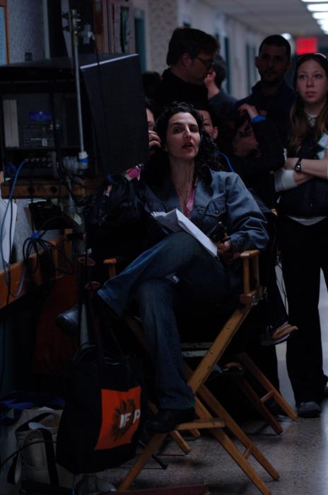 Beim Dreh: Regisseurin und Drehbuchautorin Tamara Jenkins