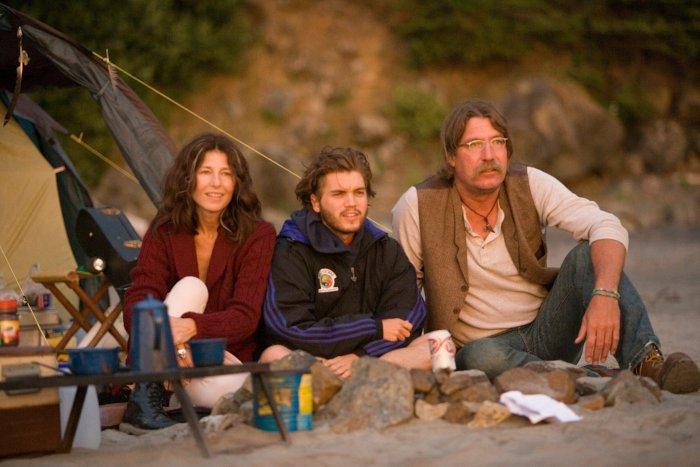 Mit Freunden im Camp