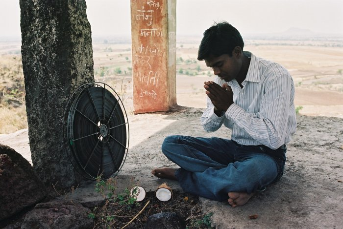 Anup Jagdale betet für die Filmrolle
