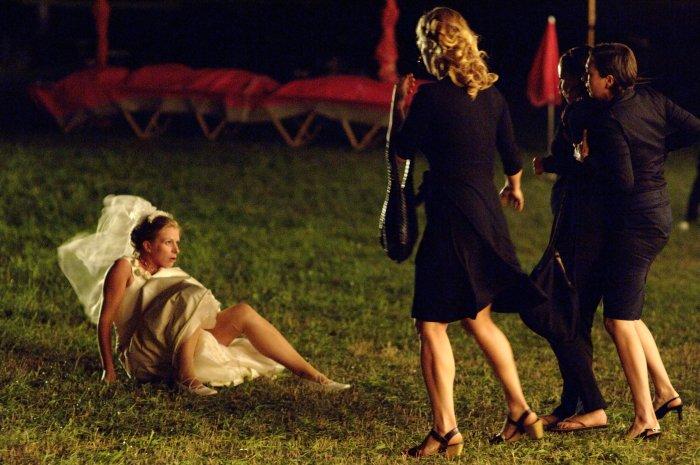 Sandra (Darina Dujmic) hat sich ihre Hochzeit anders vorgestellt