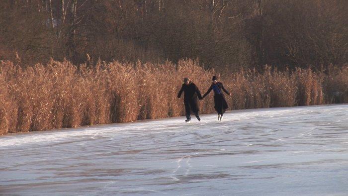 Wim und Donata Wenders begeben sich aufs Eis