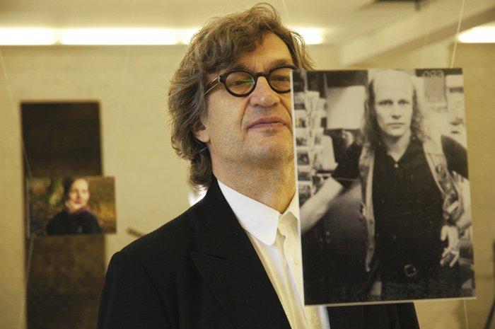 Wim mit Kameramann Robby Müller