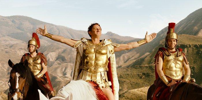 Brutus (Benoît Poelvoorde) glaubt den Sieg schon in der Tasche
