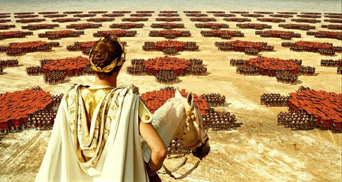 Brutus lässt seine Kohorten aufmarschieren