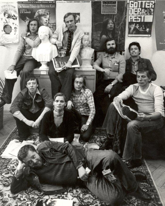 Gründungsmitglieder und erstes Team des Filmverlag der Autoren