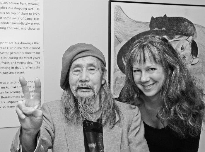 Jimmy Mirikitani mit Linda Hattendorf