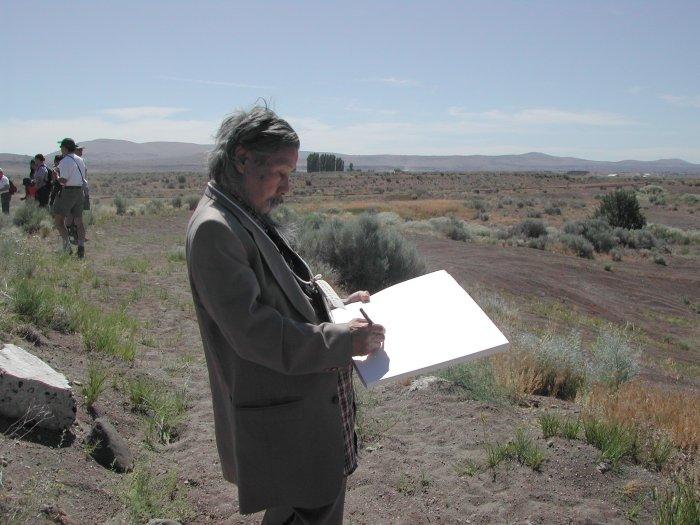 Jimmy Mirikitani im Internierungslager