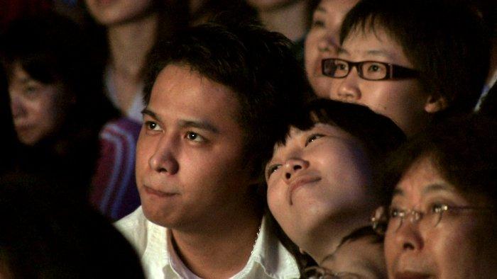 Das asiatische Publikum ist verzaubert