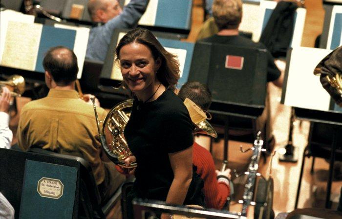 Ahnung von Tuten und Blasen: Hornistin Sarah Willis