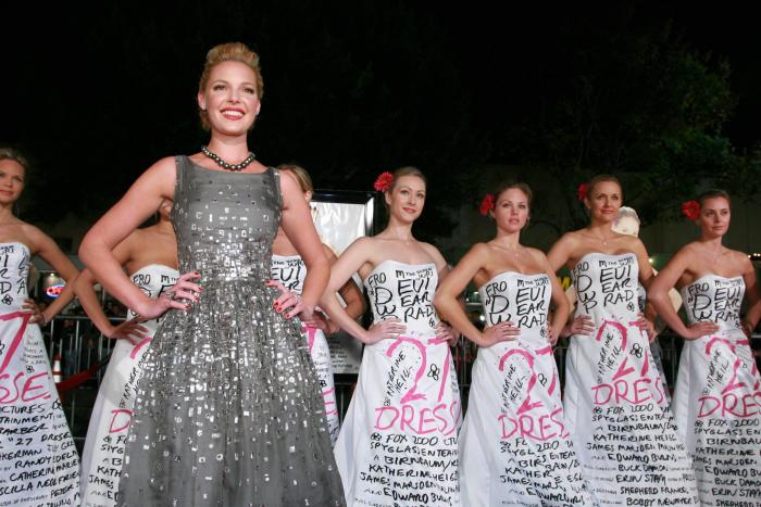 27 Dresses auf der Promo-Gala