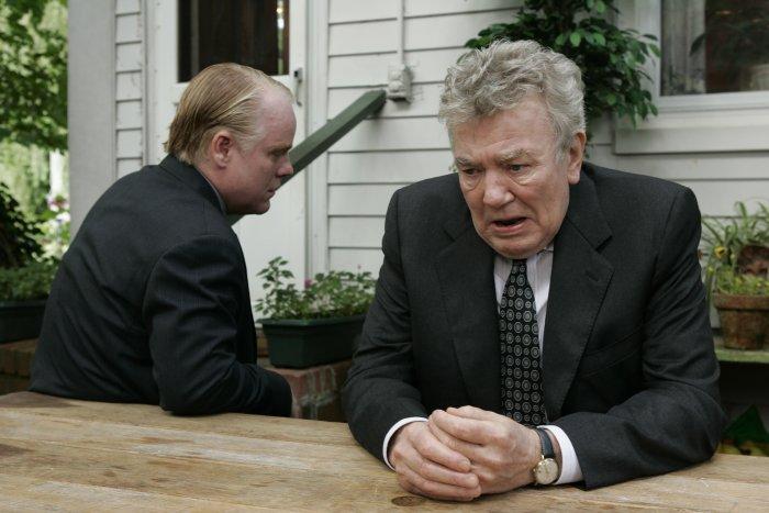 Andy (Philip Seymour Hoffman) und Charles (Albert Finney)