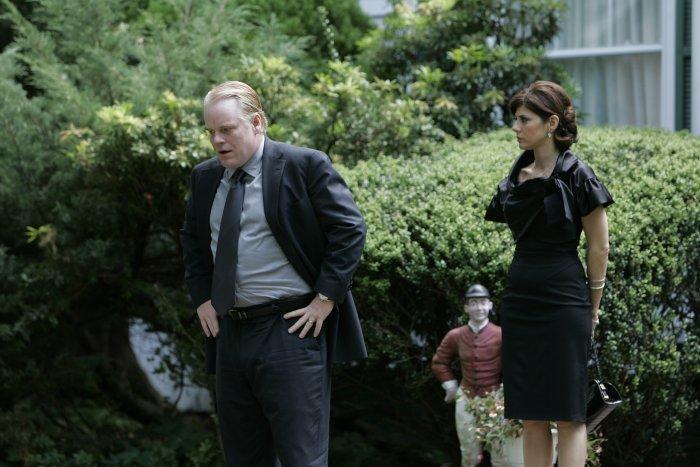 Andy mit Ehefrau Gina (Marisa Tomei)