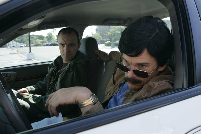 Bobby und Andy beim Ausbaldowern