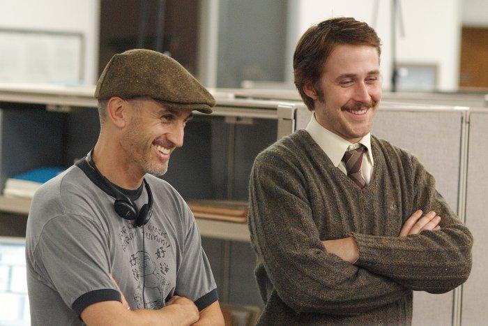 Regisseur Craig Gillespie mit Hauptdarsteller Ryan Gosling