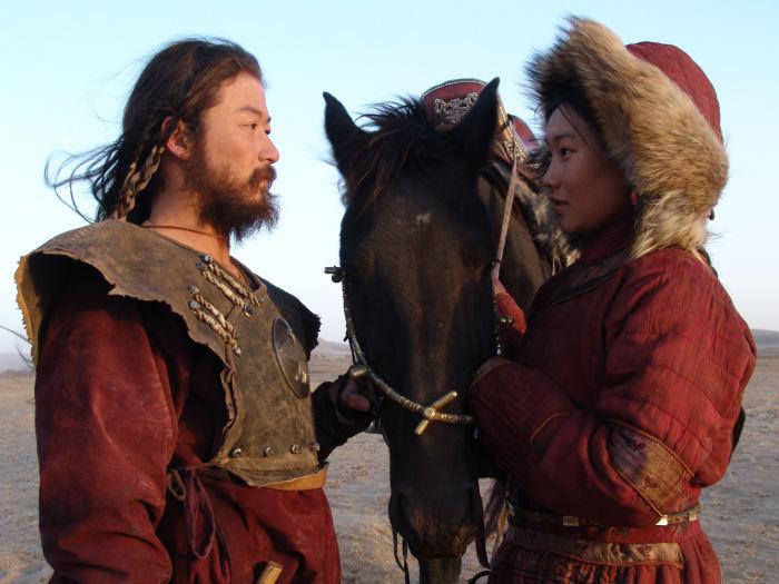 Der Mongole und seine Frau Börte