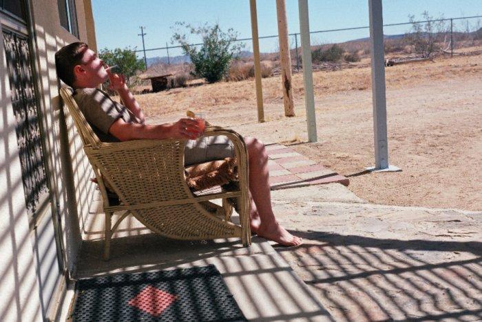 Entspannen in der Wüste