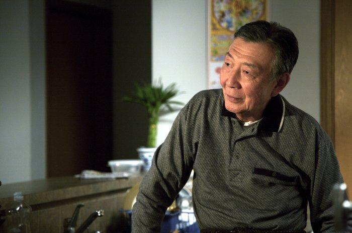 Mr. Shi in der Wohnung seiner Tochter