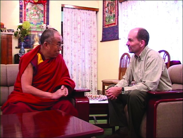 Der Dalai Lama im Gespräch mit Rick Ray