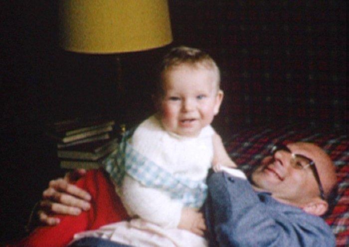 Papa Haemmerli mit Sohn