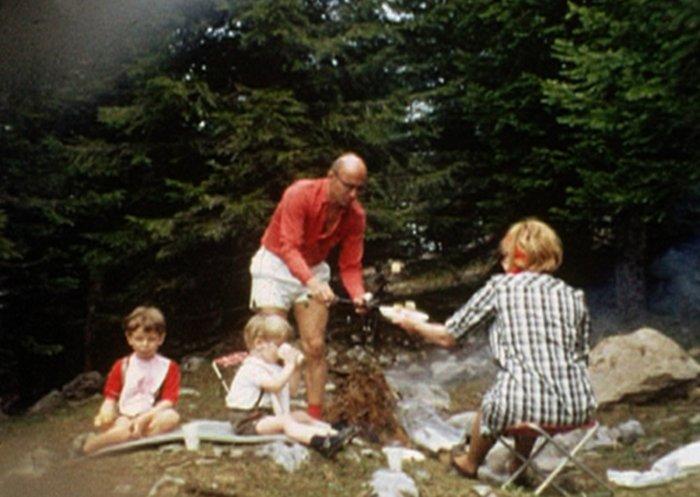Die Haemmerlis beim Picknick