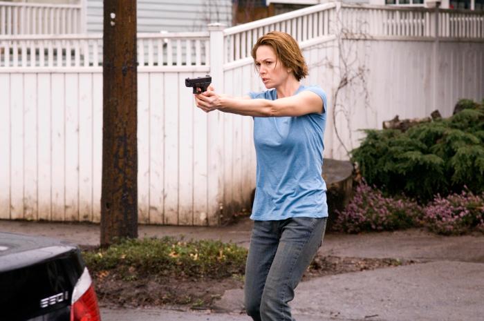 Weiß sich zu verteidigen: Agent Jennifer
