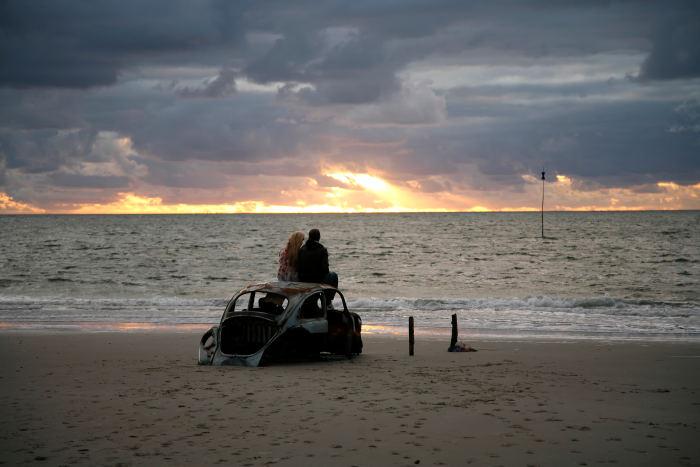 Romantik am Nordseestrand