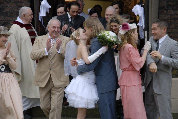Sabine und Andreas bei der Hochzeit