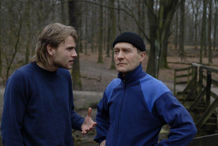 Waldlauf mit Vater (Udo Schenk)