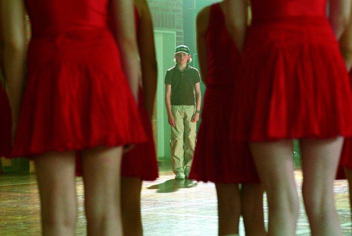Martin ist zwischen den Mädels etwas verloren