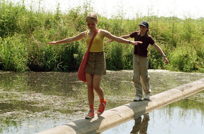 Silke mit Martin am Riverpool