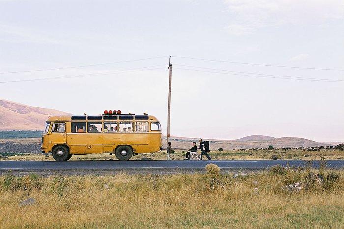 Auf dem Weg nach Armenien