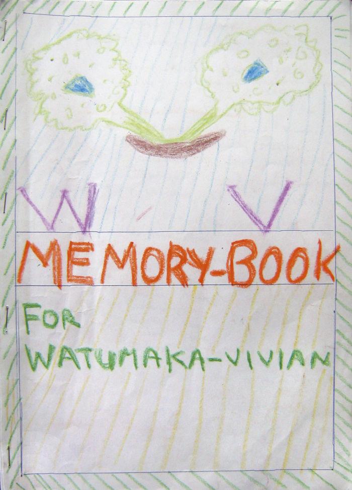 Ein typisches Memory Book