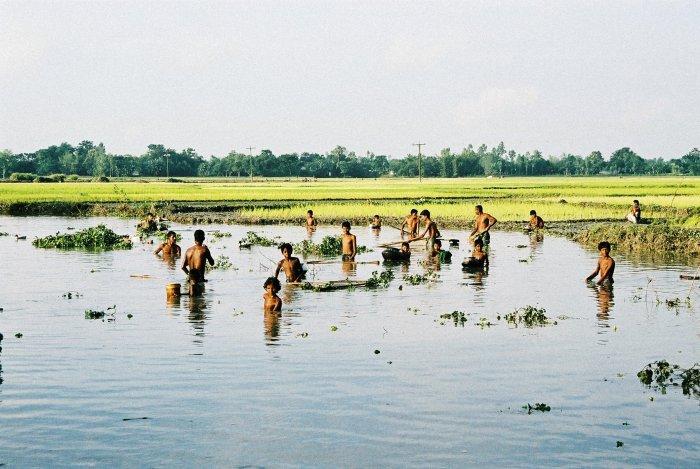 Land unter in Bangladesch
