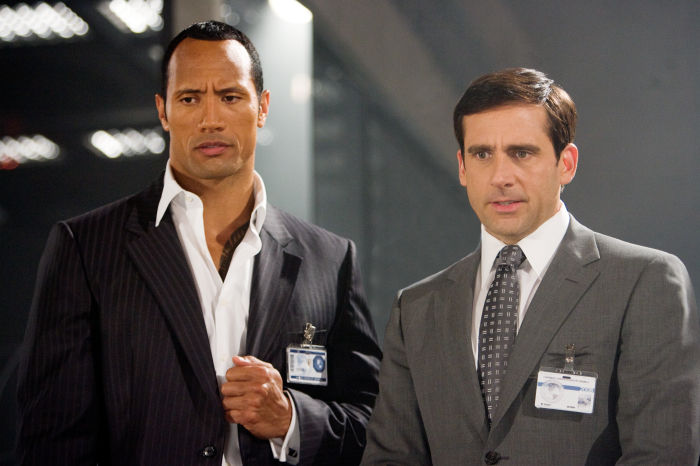 'The Rock' Agent 23 mit Maxwell Smart (Steve Carell)