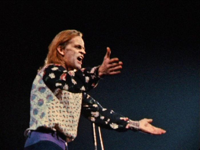 Klaus Kinski in der Berliner Deutschlandhalle  <br>(c) Salzgeber