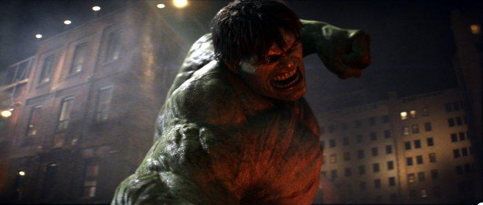 Der Hulk in Aktion