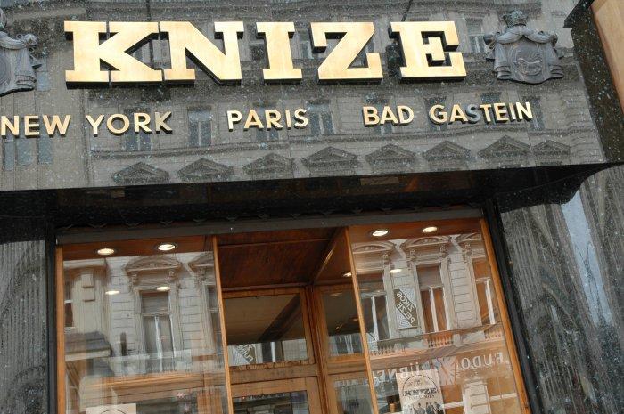 Herrenausstatter Knize - Wien